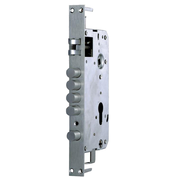Mortise lock body lock engine lock mechanism