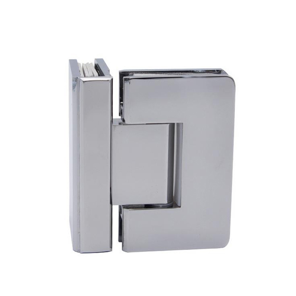 Brass glass clamp hinge glass clip