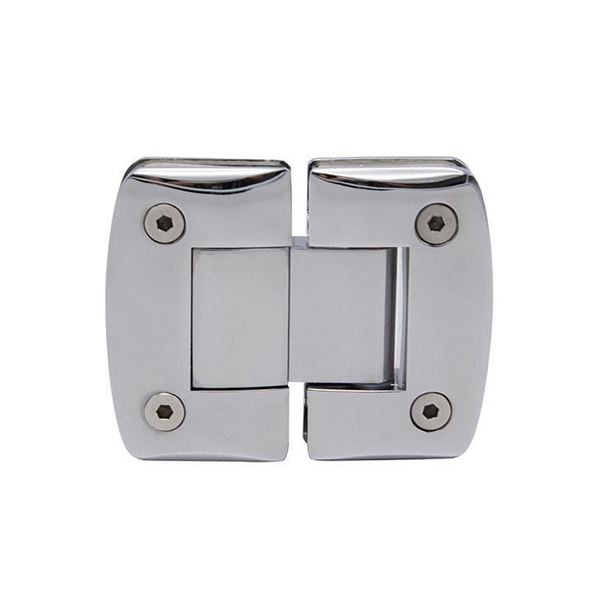 Outdoor glass railing metal hanging glass clamp clip