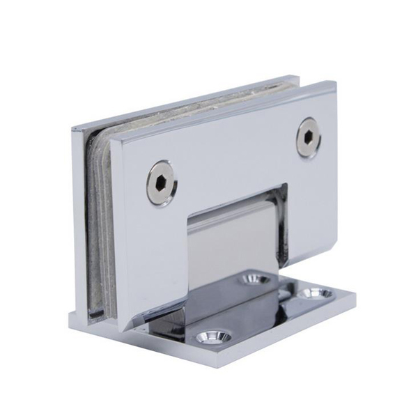 Solid Brass Glass Clip Hinge
