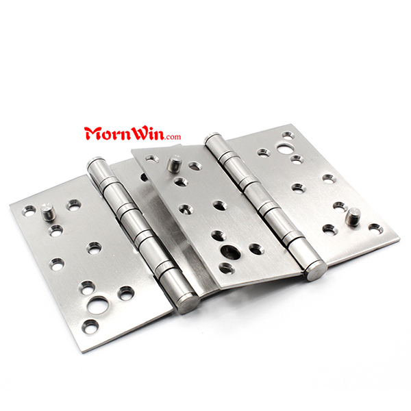 Stainless steel ball bearing steel security door dog bolt butt hinge