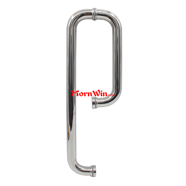 D type Stainless Steel glass door pull handle