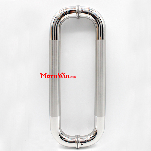 Classical Design Stainless Steel D Type Glass Door Pull Handle