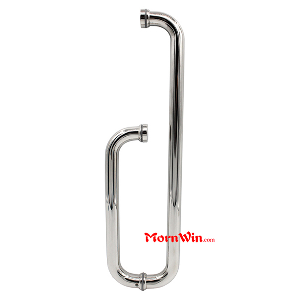 Stainless Steel Lever Door Handle ,Glass Door Pull Handle