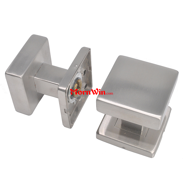 American Australia European style interior square 304 stainless steel sliding toilet door knob